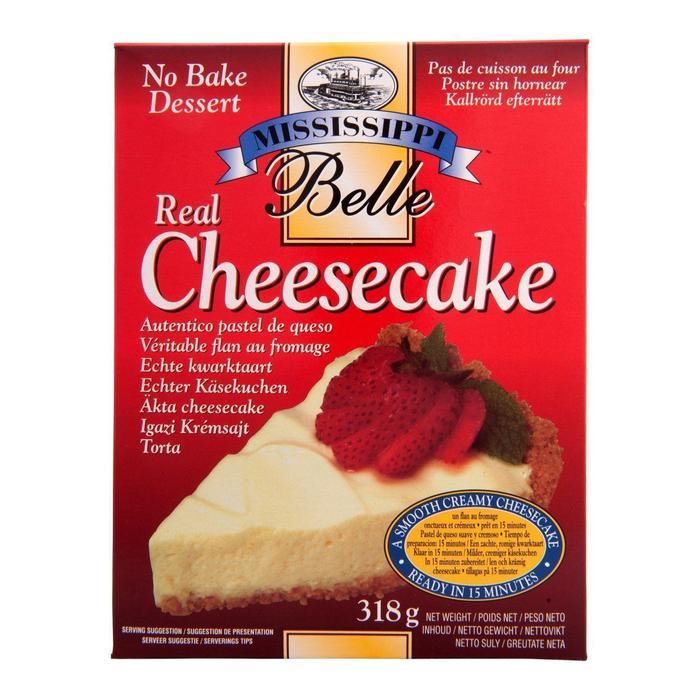 Mississippi Belle Real cheesecake no bake dessert (318g)