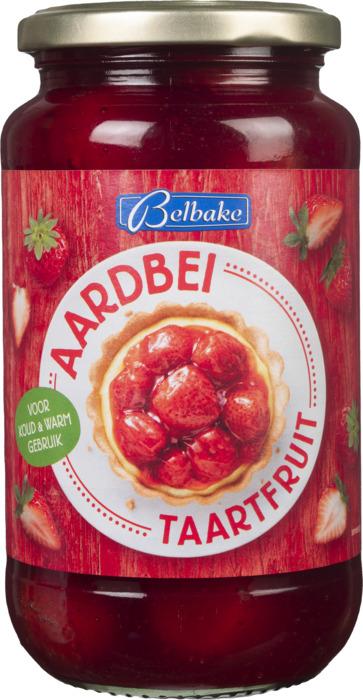 Aardbei taartfruit (pot, 560g)