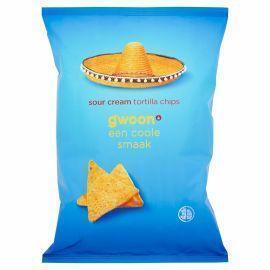 G'woon Tortilla chips sour cream (165g)