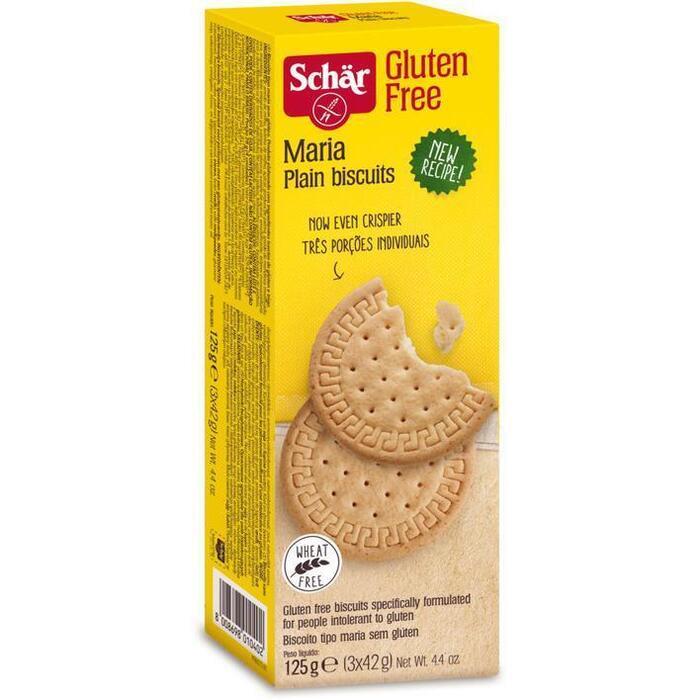 Schär Maria biscuits glutenvrij (3 × 125g)