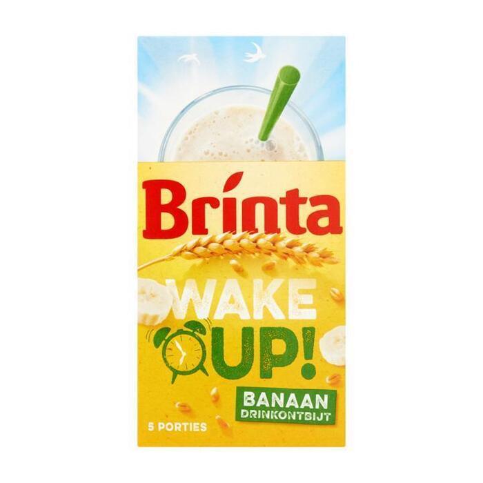 Wake Up! Drinkontbijt Banaan (doos, 5 × 22g)