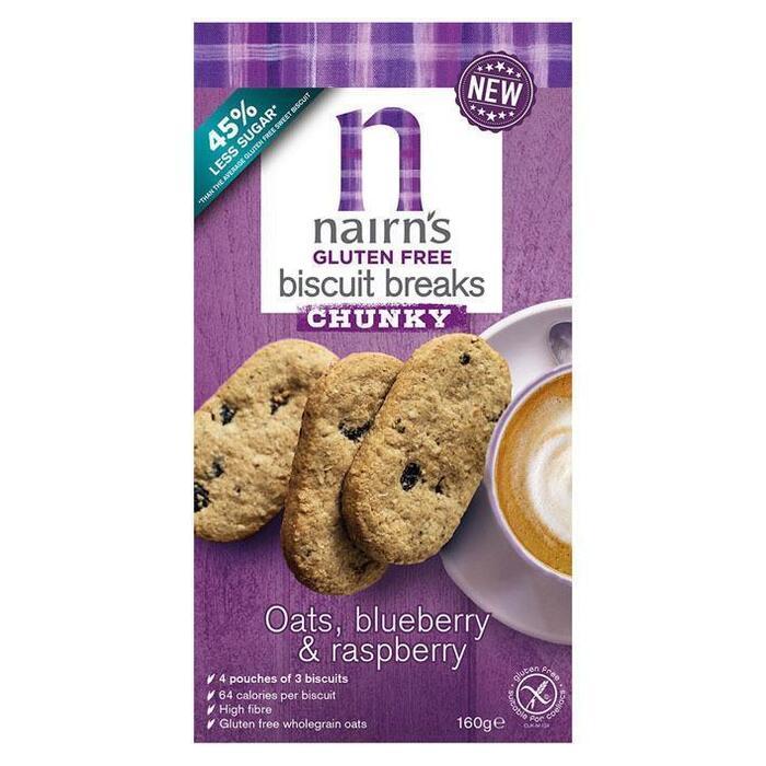 Nairn's Gluten free chunky oats, coconut &choc (160g)