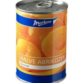 Halve Abrikozen (blik, 420g)