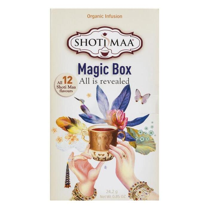 Magic box biologisch (12 stuks) (12 × 24g)