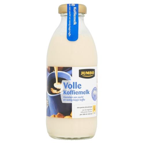 Koffiemelk vol (fles, 188ml)
