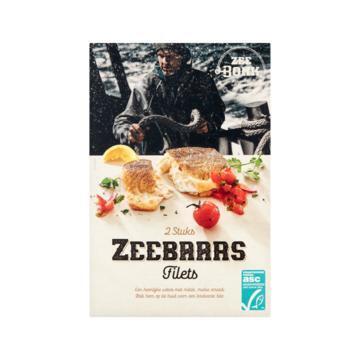 Zeebonk Zeebaars Filets 2 Stuks 250 g (250g)