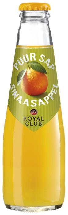 ROYAL CLUB JUS D'ORANGE 20cl fles (200ml)
