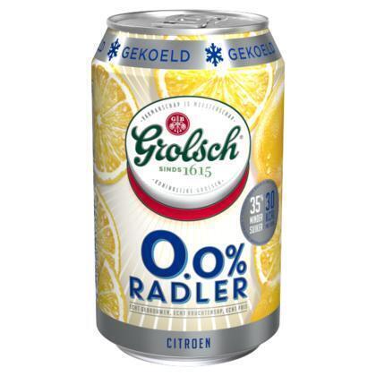 0.0% radler citroen (rol, 33 × 33cl)