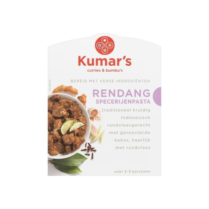 Kumar's Curries & Bumbu's Rendang Specerijenpasta 80ml (80ml)