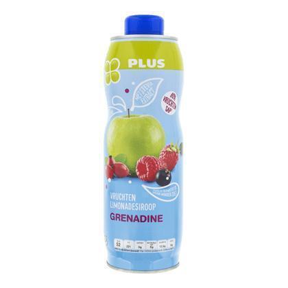 Limonadesiroop grenadine (rol, 0.75L)