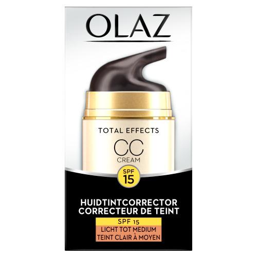 Olaz Total Effects 7in1 CC Cream SPF15 Licht/Medium 50ml