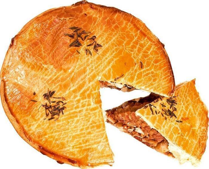 Rundvlees & chorizo pie (225g)