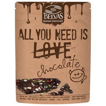 All you need is chocolate chocobrokken (120g)