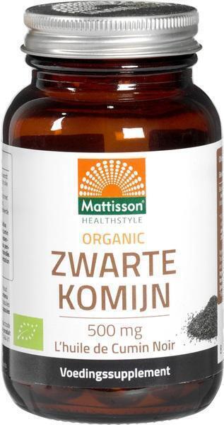 Zwarte komijn 500 mg capsules