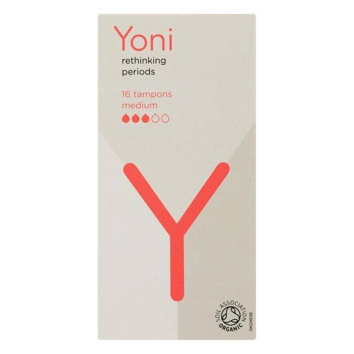 Yoni Tampons van biokatoen medium