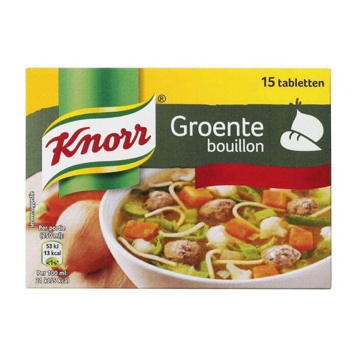 Knorr Bouillon Groente 10 g (tabletten, 15 × 10g)