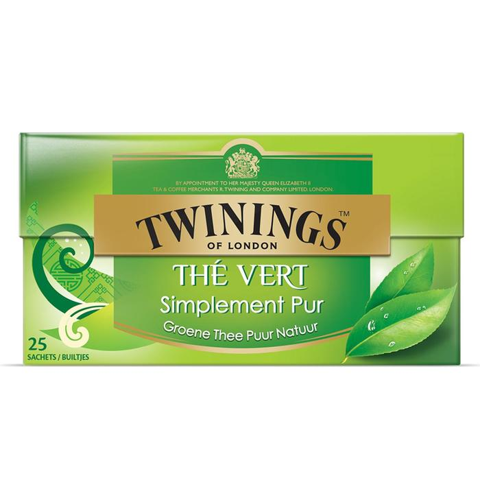 Twinings Groene thee puur natuur (25 st.)