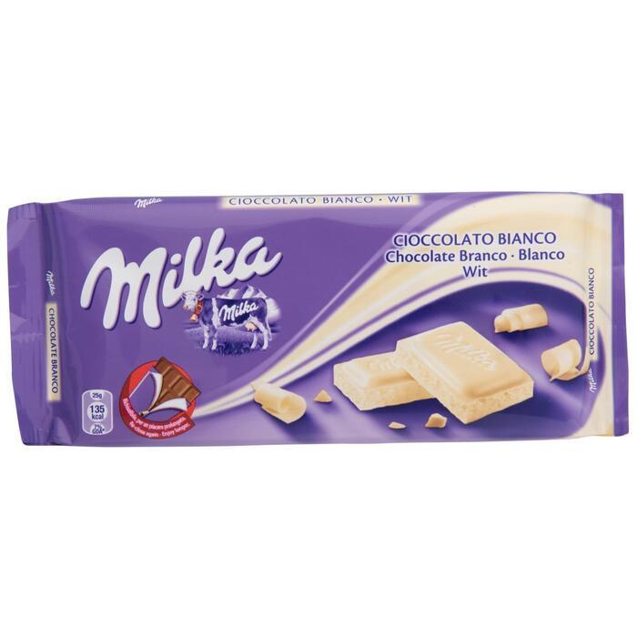 Milka Wit (tablt, 200g)