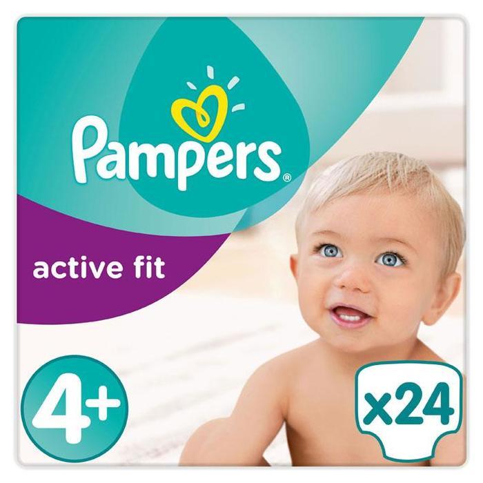 Luiers Pampers Active Fit Maat 4+