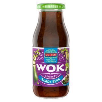 Go-Tan Original Wok All Natural Black Bean (240ml)