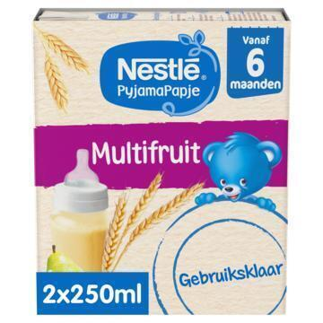 Nestlé Pyjamapapje multifruit 6mnd (2 × 250ml)