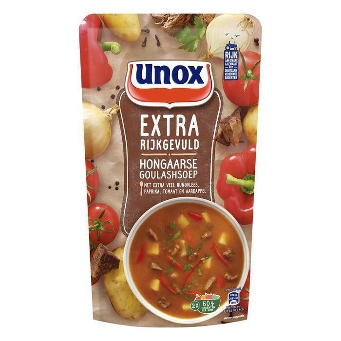 Unox Soep in zak goulashsoep (0.57L)