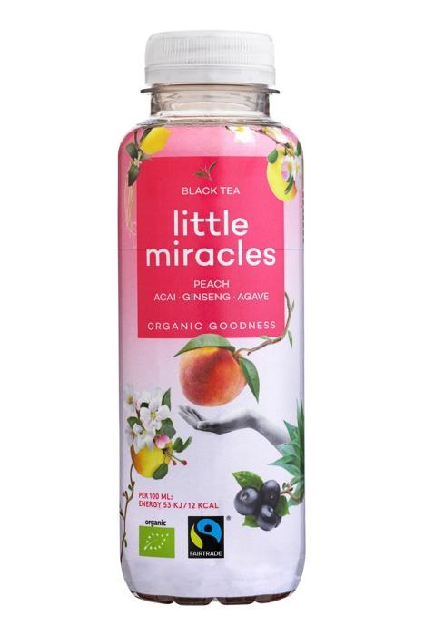 Little Miracles Black Tea & Ginseng (petfles, 33cl)