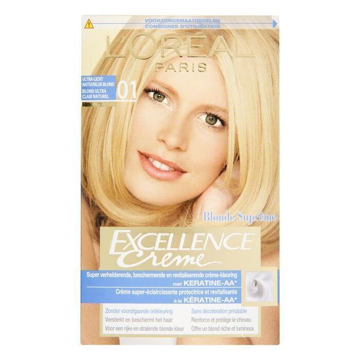 L'Oréal Excellence crème 01 ultra-licht blond (stuk)