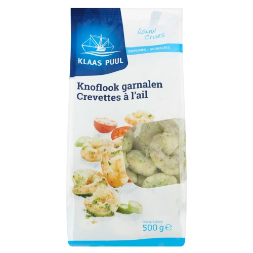 Gemarineerde Wokgarnalen (zak, 500g)