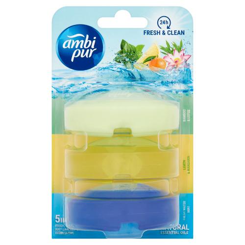 ambi pur Bamboo & Lotus Lemon & Mandarin Fresh Water & Mint 3 x 55 ml