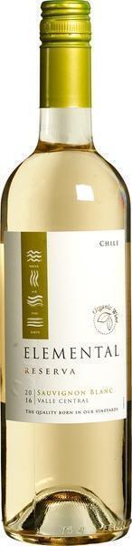 Elemental reserva Sauvignon Blanc (glas, 0.75L)
