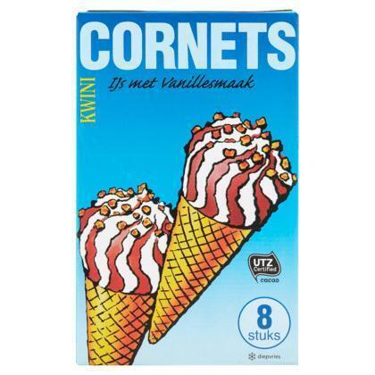 Cornets (8 × 0.96L)