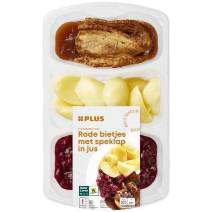 Rode biet speklap aardappels (500g)