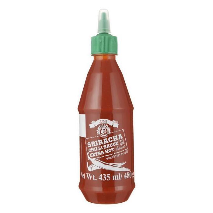 Sriracha Chilisauce Extra hot (fles, 43.5cl)