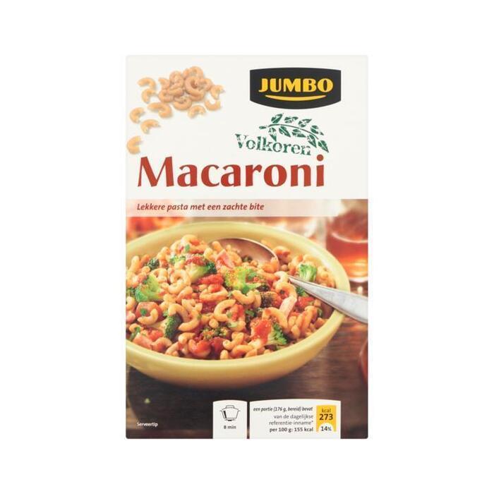 Volkoren Macaroni (doos, 500g)