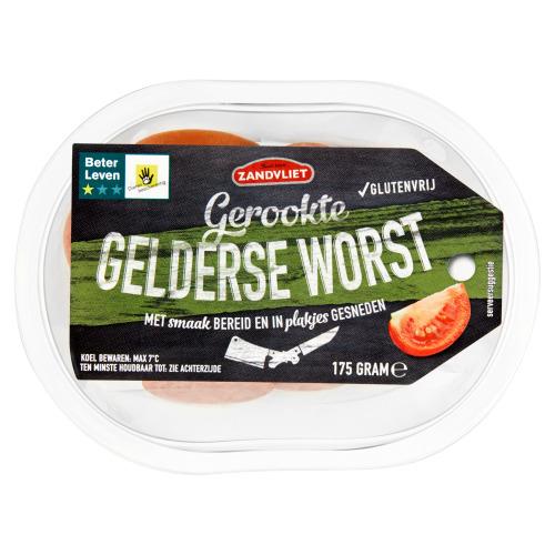 Zandvliet Gerookte Gelderse worst glutenvrij (175g)