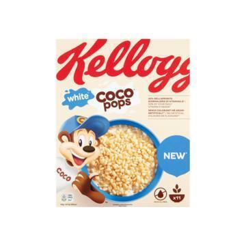 Kellogg's White Coco Pops 350 g (doos, 350g)