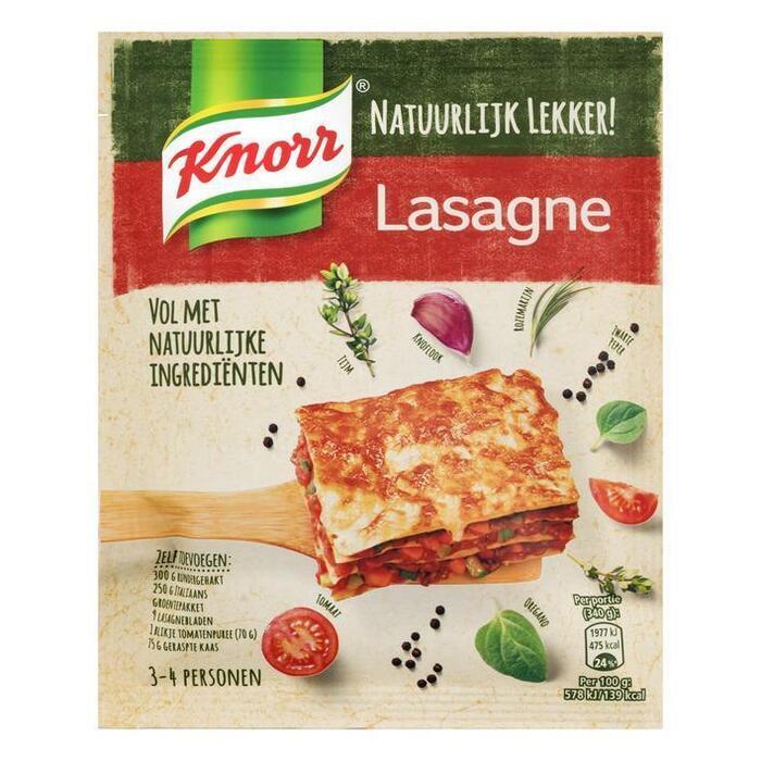 Maaltijd Mix Natuurlijk Lekker! Lasagne (zak, 60g)