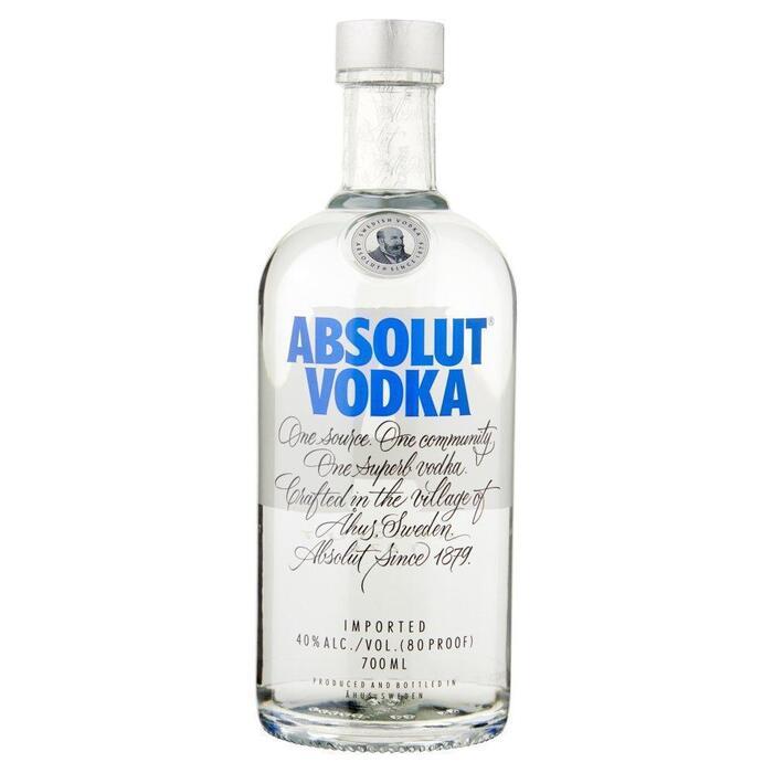 Absolut Wodka 70 CLT fles (rol, 0.7L)
