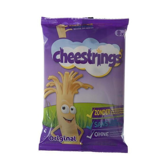 Cheestrings natural (8 × 21g)