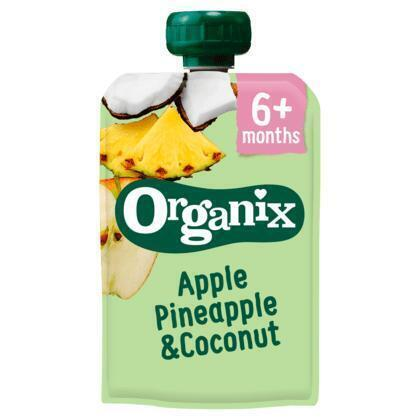 Organix Just apple pineapple and coconut (100g)