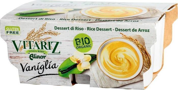 Rijstdessert vanille 4-p (400g)