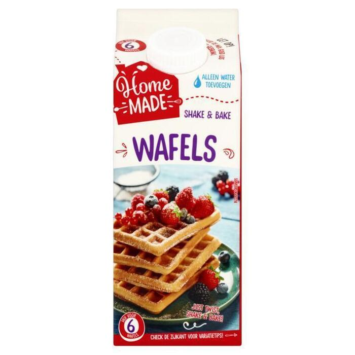 HomeMade Shake & Bake Mix voor Wafels 350 grm (350g)