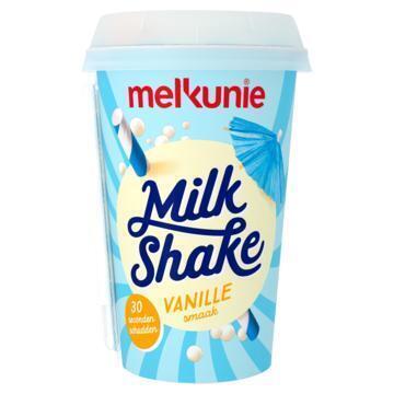 Melkunie Milkshake Vanillesmaak 200 ml (bak, 200ml)