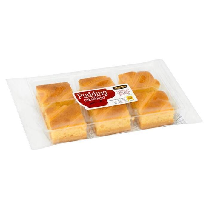 Jumbo Pudding Cakeblokjes 300g (300g)