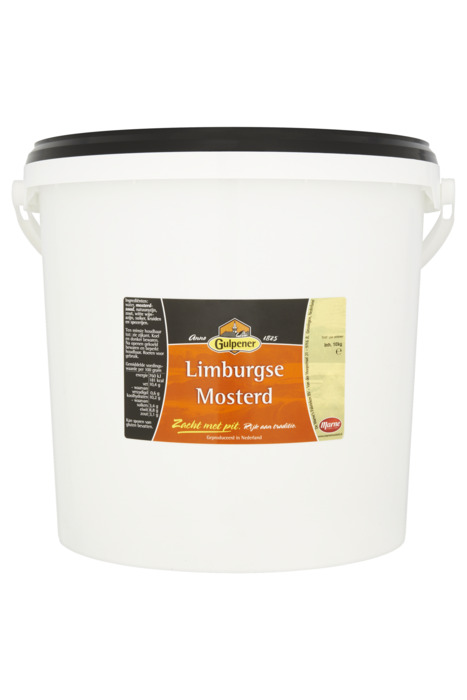 Gulpener Limburgse mosterd 10KGM emmer (10kg)