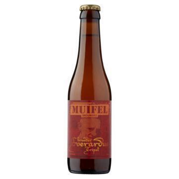 Muifel Brouwerij Broeder Everardus Tripel Fles 33cl (rol, 33cl)