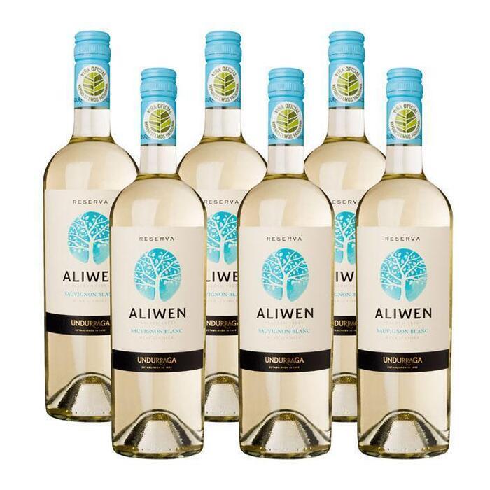 Aliwen sauvignon blanc reserva ds (6 × 0.75L)