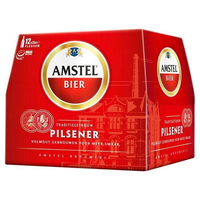 Amstel bier (Stuk, 12 × 250ml)