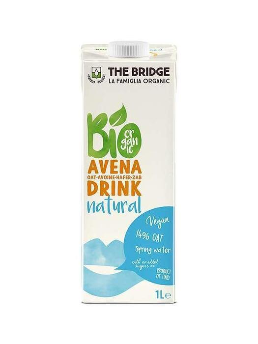 Haverdrink naturel The Bridge 1ltr (1L)